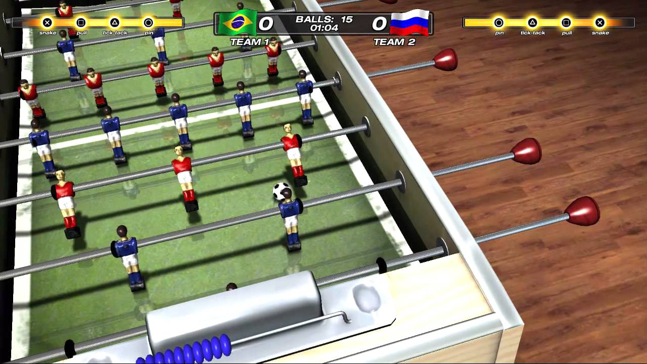Foosball 2012 Drops on PSN Today!