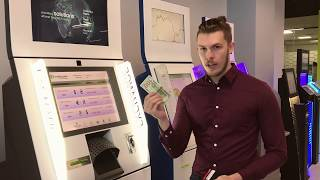 Automatic Currency Exchange Machine - How to Change Money in ATM | step by step intstruction
