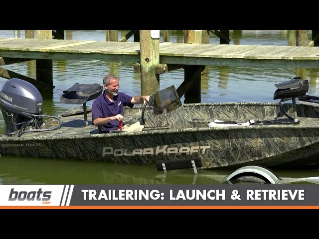 Tips and Tricks for Launching and Retrieving a Trailer Boat