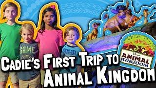 Our Girl Cadie's First Trip to Animal Kingdom // Walt Disney World, Orlando, Florida