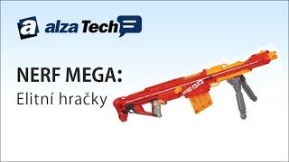 NERF Mega: Opravdu elitní hračky! - AlzaTech #76