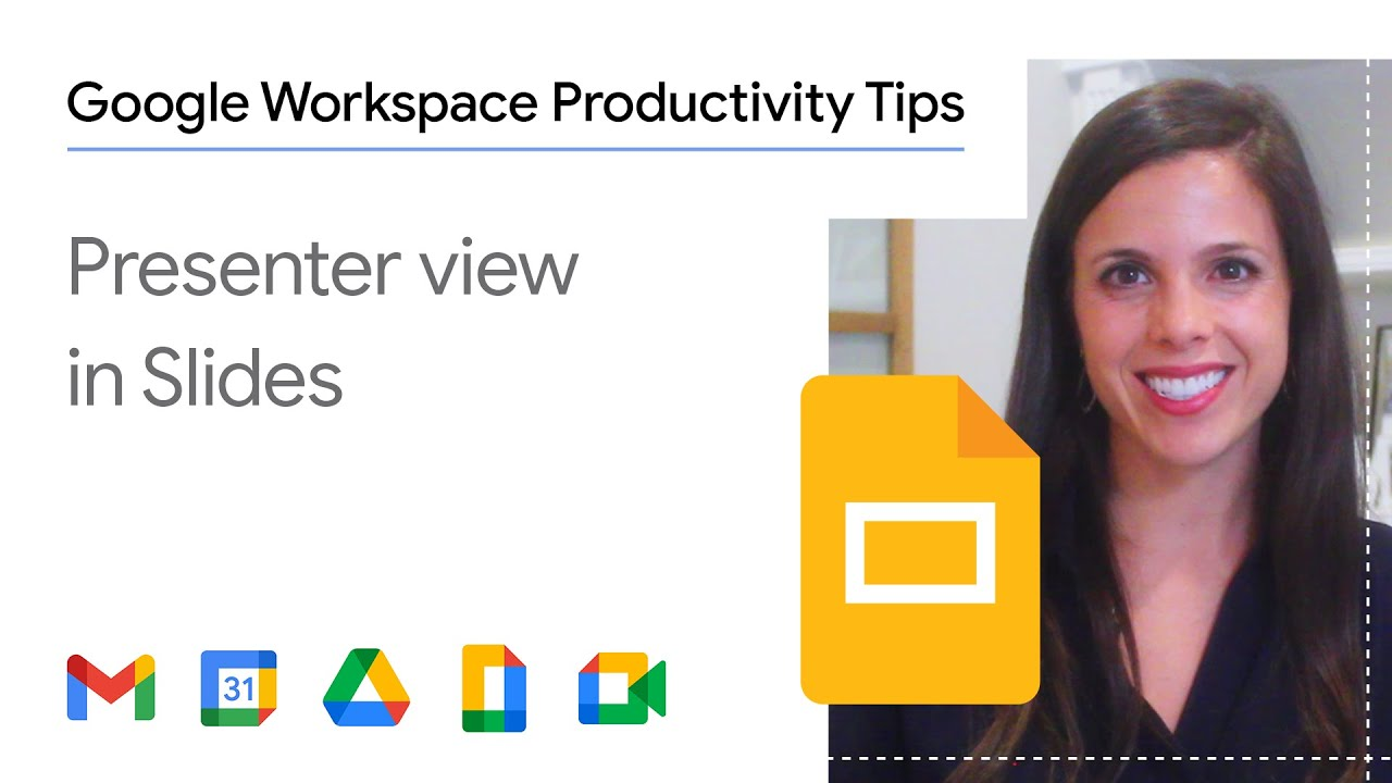 Presenting in a meeting and want easy access to a timer and your speaking notes? In this episode of Google Workspace Productivity Tips, we show you how to use and enable the Presenter View in Google Slides.