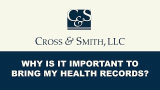 Should I Bring My Health Records to Meet With an Injury Lawyer?