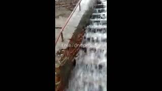 Потоп в Днепре на ул. Макарова