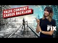Valve Regrets Comment About the Epic Games Store - IGN Daily Fix