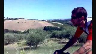preview picture of video 'Ciclismo - Romagna - Marche - Salita - Tavullia-Saludecio - Appunti di Romagna'