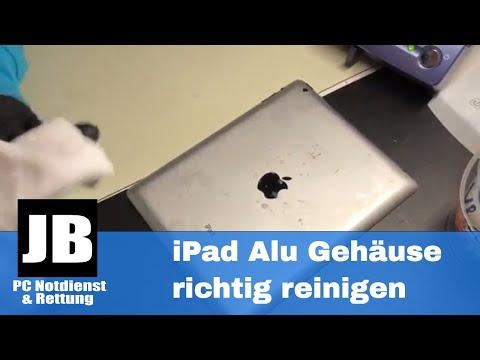 iPad, iPhone  Aluminium-Gehäuse Rückseite richtig reinigen? Wir zeigen Euch wie es geht!