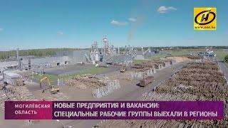 Специальные рабочие группы изучают экономический потенциал регионов Беларуси