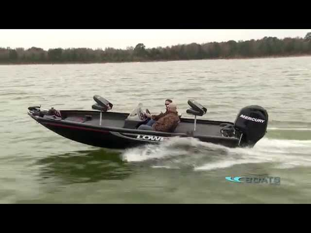 Lowe Stinger 175 Aluminum Fishing Boat Review / Performance Test