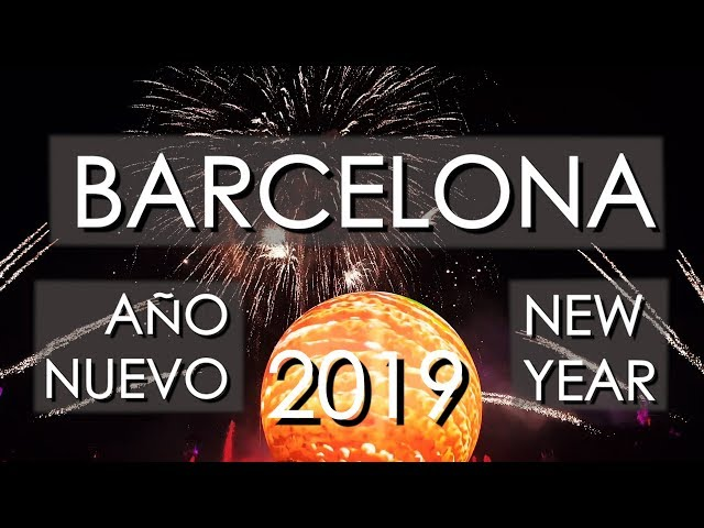 Barcelona New Year