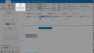 Schedule an Amazon Chime meeting for someone else with Microsoft Outlook on Windows