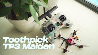 Toothpick Maiden Flight - Kabab FPV Spec Build