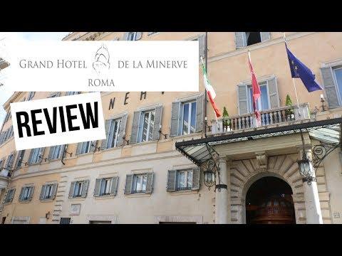 GRAND HOTEL DE LA MINERVE Review! [Rome, Italy]
