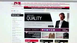 Buy Mens Suits Online by www.MensUSA.com Suits Visit