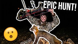 Predator Hunting with a BOW & ARROW! (Must Watch)