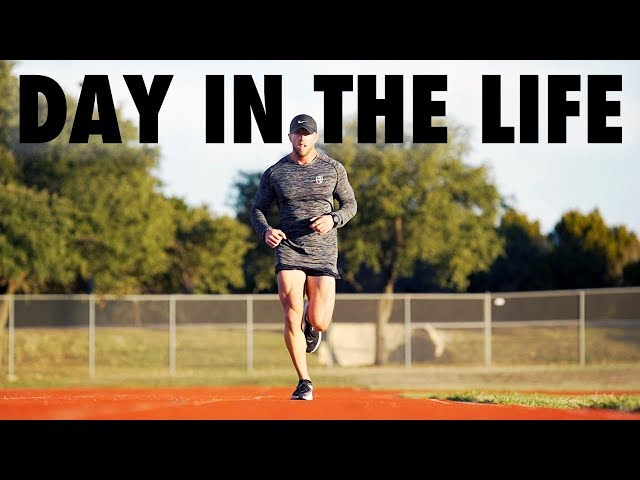 DAY IN THE LIFE | Supplement CEO & Marathon Prep | Nick Bare