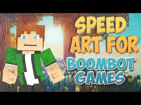 Speed Art/Banner For BoomBotGames