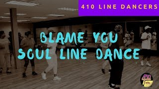 Ledisi - I Blame You Soul Line Dance with Walk-Thru Instructions - Dallas, Tx