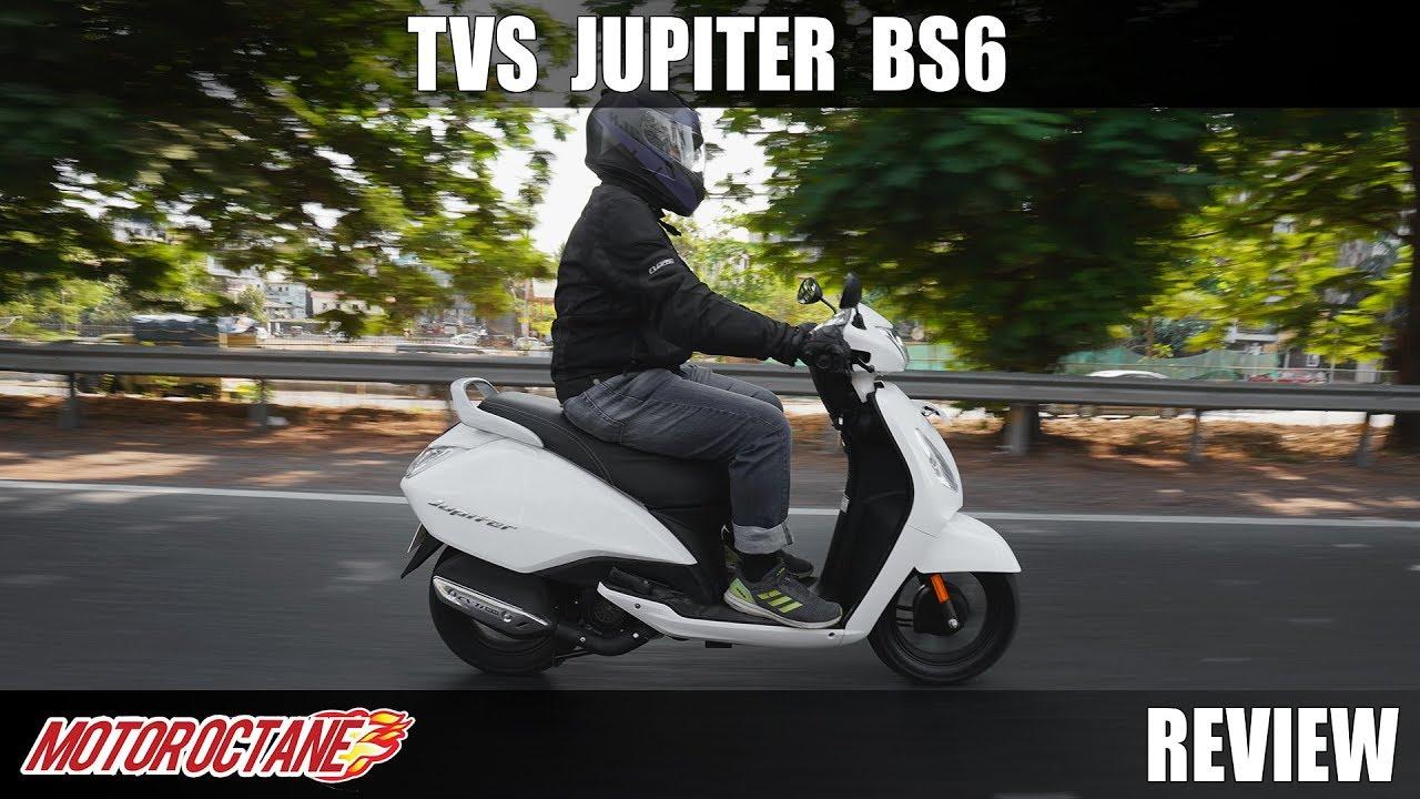 Motoroctane Youtube Video - TVS Jupiter BS6 Review - Still Value For Money? Hindi | MotorOctane