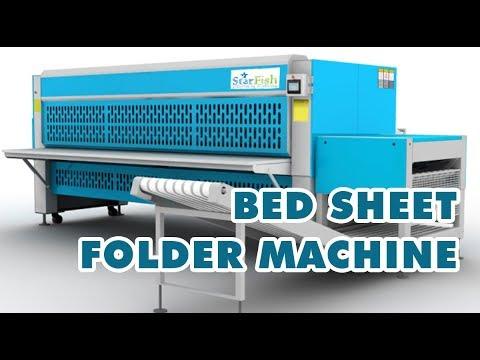 Bed Sheet Folding Machine