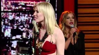 "Natasha Bedingfield   ""Weightless Live ""With Regis  & Kelly"""