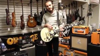 "Isaiah Wildcat JAMS IT OUT on the Epiphone Les Paul Custom Pro ""Black Back"""