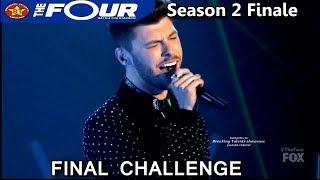 """James Graham Sings """"Fix You"""" Final Challenge  Battle Performance The Four Season 2 FINALE S2E8"""