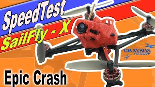 HappyModel SailFlyX Speed Test - How Fast do Micro FPV Drones Fly