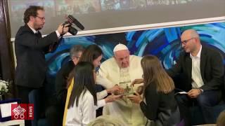 Papa Francisco, primer Papa en escribir una línea de código 2019-03-22