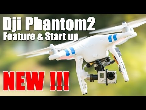 DJI Phantom 2 GPS Drone (RTF) Feature & Start Up- HeliPal.com