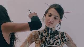 Bodypaint by Zent Prozent, model Zarinka Soiko - OI RIZES (Real Life Fantasy) REUPLOAD