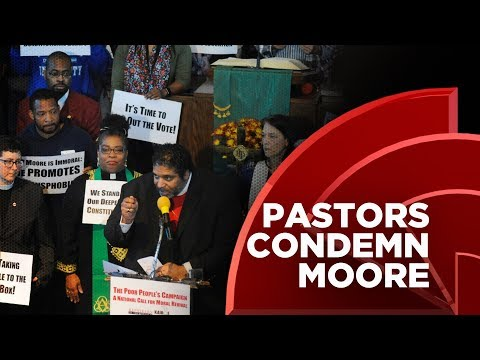 A Group Of Alabama Pastors Condemn Roy Moore, Call His Candidacy A Fight For The Nation's Soul