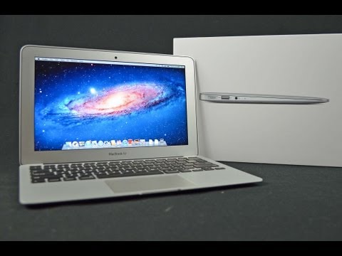 "New Apple MacBook Air 11"" (2012):  Unboxing and Tour"