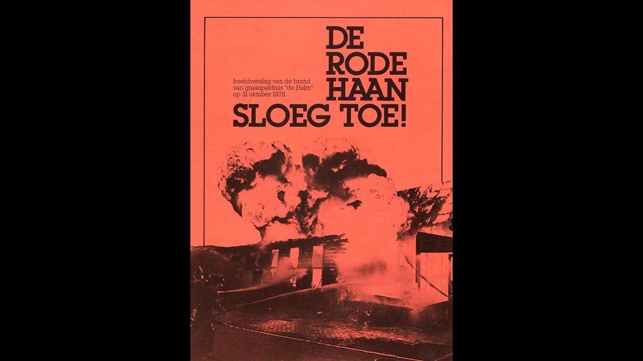 """Brand pakhuis """"De Halm"""" Wormerveer 31 oktober 1978"""