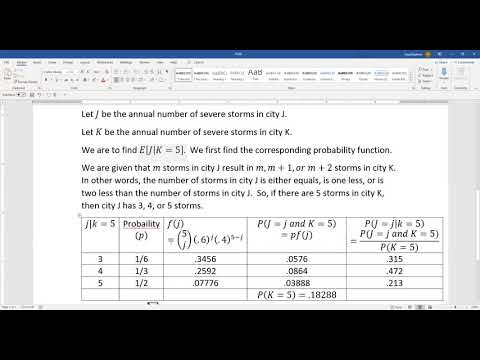 Actuarial SOA Exam P Sample Question 229 Solution - YouTube
