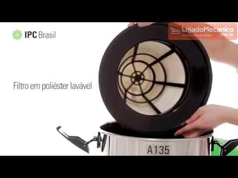 Aspirador para Solidos e Liquidos A135 35 Litros 1200W  - Video