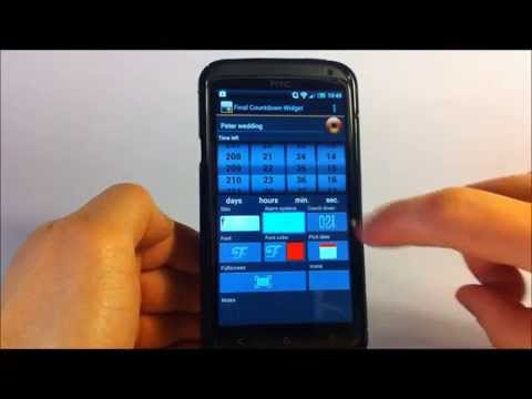 Video of Final Countdown Widget 2