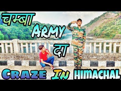 "चम्बा ARMY भर्ती"" DA CRAZE IN HIMACHAL VS BAPU || FULL COMEDY ND HEART TOUCHING VIDEO BY|| H.M 2018"