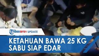 Polisi Berhasil Gagalkan 25 Kg Sabu Siap Edar di Palu, Jadi Kasus Terbesar dalam Sejarah di Sulteng