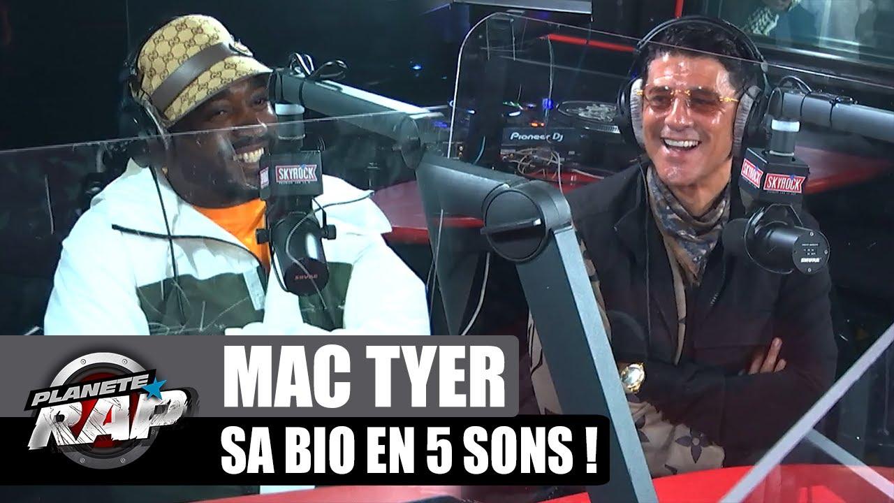 La BIO de Mac Tyer en 5 SONS ! (avec Saïd Taghmaoui) #PlanèteRap