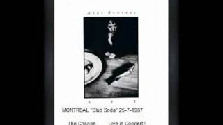 "ANDY SUMMERS - the change (Montreal ""club soda"" 25-7-1987)"
