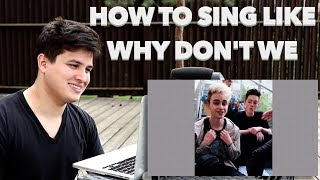 Vocal Coach Reaction to Why Don't We BEST Mashups