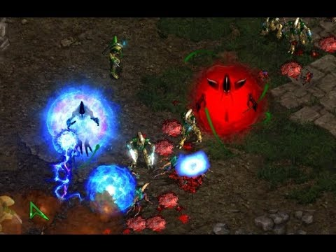 Jaedong (Z) v PerfectMan (P) on Aztec 1.1 - StarCraft  - Brood War REMASTERED