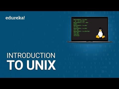 Introduction to UNIX | UNIX Tutorial for Beginners | UNIX Training | Edureka