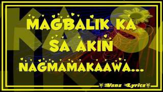 Bugoy Drilon   Nagmamakaawa   Lyrics