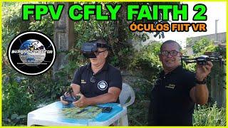 FPV com Cfly Faith2 Sim é Possível