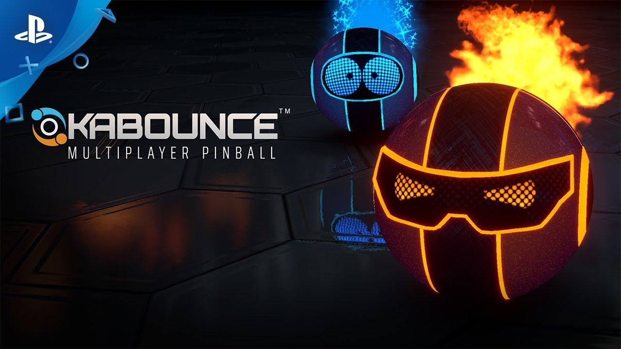 High Speed Pinball Game Kabounce Zooms to PS4 May 29