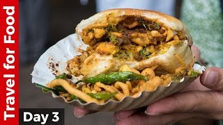 Indian Street Food Tour in Mumbai - Bombay Duck Fry and AMAZING Vada Pav!
