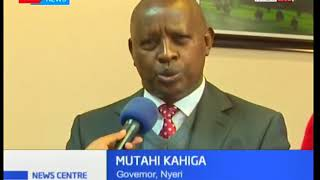 Nyeri County Governor Mutahi Kaiga unveils roadmap to countywide Universal Healthcare Coverage