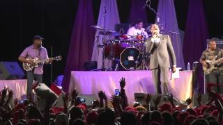 Donnie sings Days of Elijah in Dominica